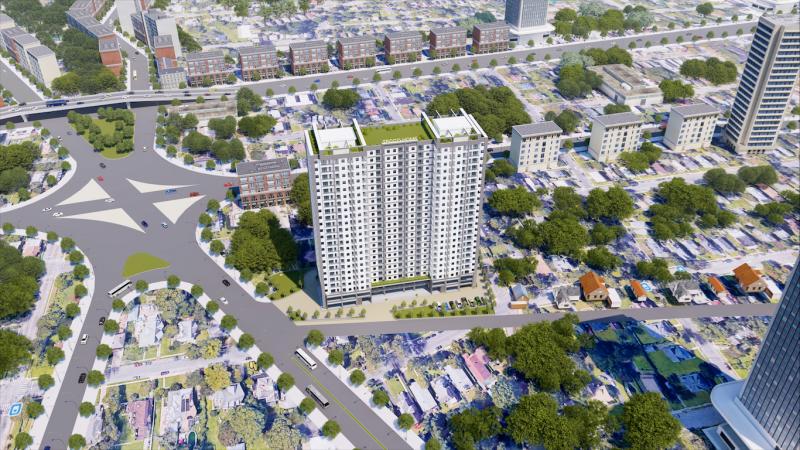 Tecco Home, một trong những dự án có vị trí đắc địa và giá khá mềm ở thành phố Thuận An.