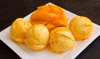 Hướng dẫn cách làm món kem xoài ngọt mát giải nhiệt ngày nắng nóng