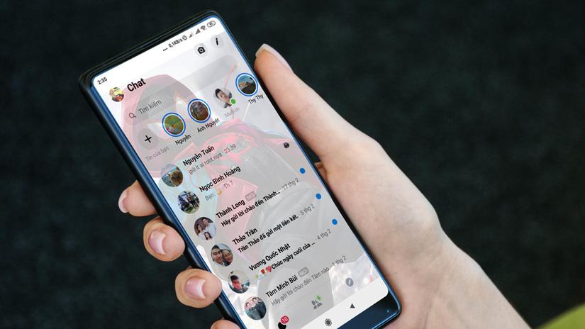 3 bước tạo hình nền trong suốt cực thú vị trên điện thoại Android