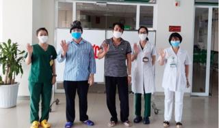 Thêm 2 ca khỏi bệnh, BV Nhiệt đới Trung ương chỉ còn 2 bệnh nhân Covid-19
