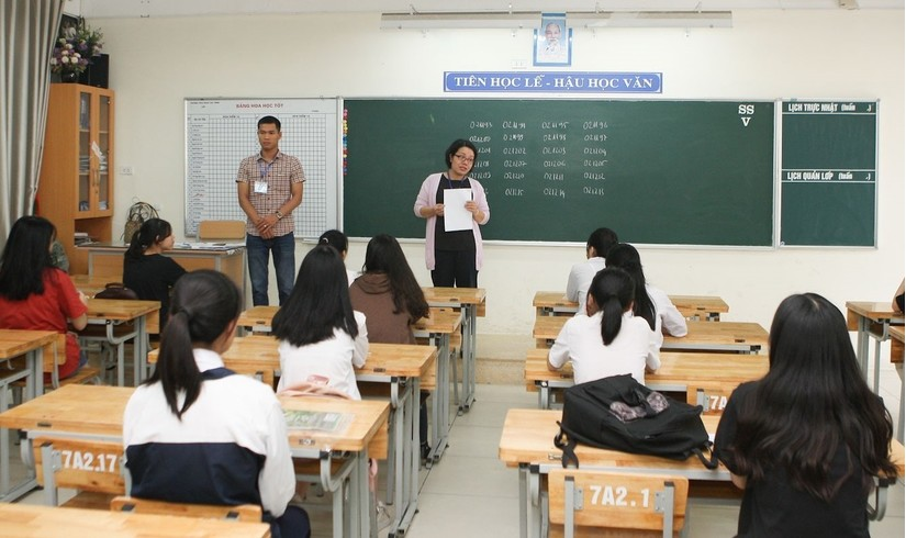 10.000 giáo viên sẽ tham gia coi thi Tốt nghiệp THPT tại Hà Nội