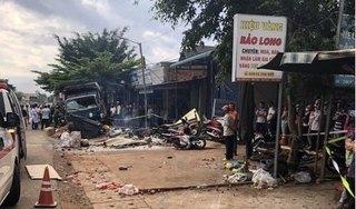 Xe tải trọng lớn lao thẳng vào chợ, ít nhất 5 người tử vong
