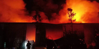Căng mình trong đêm khống chế thành công đám cháy tại Thanh Trì