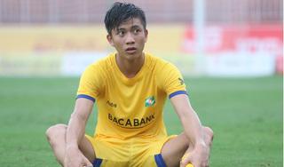 Tiền vệ Phan Văn Đức gặp chấn thương ở vòng 4 V.League