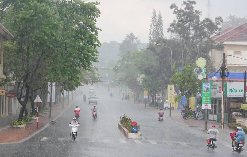 Tin tức thời tiết ngày 14/6/2020, cả nước có mưa dông trên diện rộng