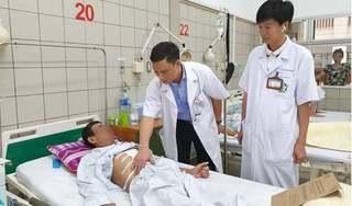 Một bệnh nhân ung thư được tạo thực quản bằng đại tràng