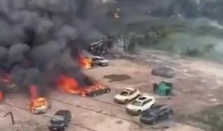 Xe bồn chở khí đốt phát nổ, 10 người chết, 117 người bị thương