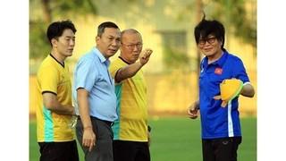 VFF mang tin vui bất ngờ tới HLV Park Hang Seo