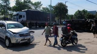 Tin tức tai nạn giao thông ngày 14/6: Tai nạn liên hoàn trên Đại lộ Nguyễn Tất Thành