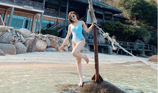 Hot girl Trâm Anh lần đầu đăng ảnh bikini nóng bỏng sau scandal