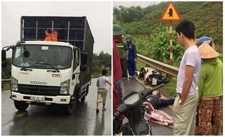 Hòa Bình: Tông vào xe tải ngược chiều, tài xế xe máy tử vong tại chỗ