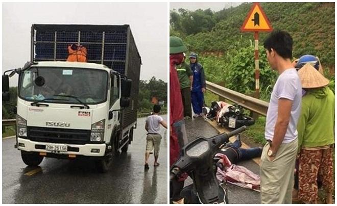 Hòa Bình: Danh tính 9x tử vong sau cú va chạm với xe tải trên đường HCM