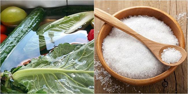 5 mẹo loại bỏ thuốc trừ sâu trong rau củ quả đơn giản và hiệu quả nhất