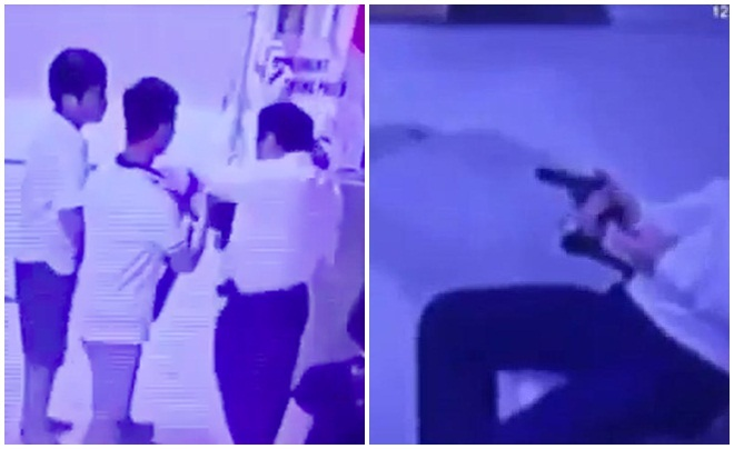Phó chủ tịch Tập đoàn Đèo Cả rút súng đồ chơi dọa đánh bảo vệ chung cư