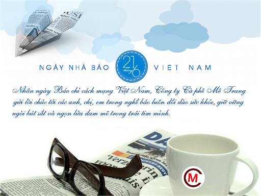 Những mẫu thiệp chúc mừng Ngày Báo Chí Việt Nam 21/6 đẹp và ý nghĩa 1