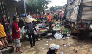 Bắt giam tài xế vụ xe tải lao vào chợ khiến 5 người tử vong