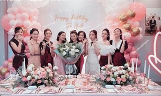 Mai Phương Thúy và dàn Hoa hậu, Á hậu mừng sinh nhật Tú Anh