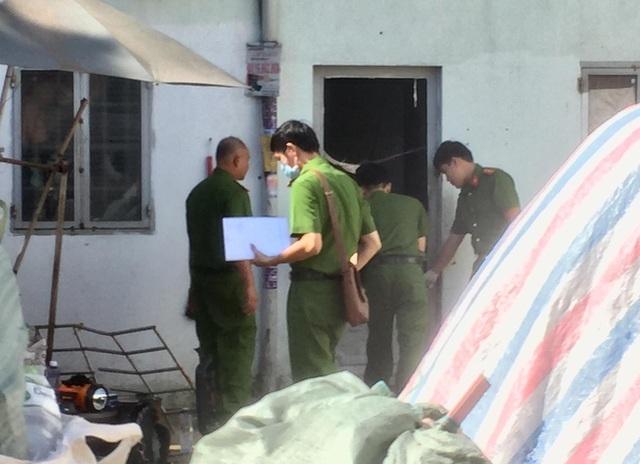 2 cha con tử vong, mẹ trọng thương trong vụ cháy nhà trọ ở Tân Phú