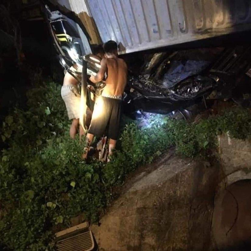 Nguyên nhân vụ container đè bẹp limousine ở Quảng Ninh làm 3 người chết