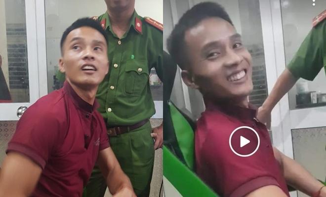 CLIP: Thái độ hợp tác khi bị bắt của phạm nhân trốn trại Triệu Quân Sự