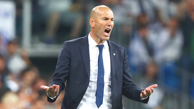 HLV Zidane không quan tâm tới Barcelona