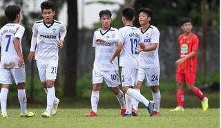 U19 HAGL 2 gây thất vọng ở trận mở màn ở VCK U19 quốc gia