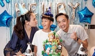 Cùng Cường Đô La tổ chức sinh nhật cho Subeo, Đàm Thu Trang gây chú ý với vòng 2 lùm xùm