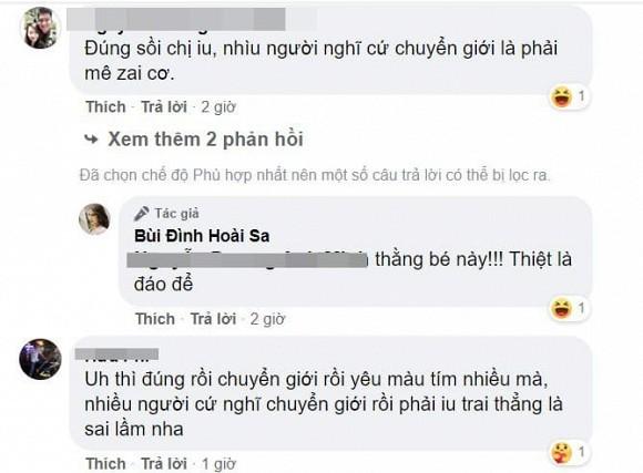 Hoài Sa phản đối quan điểm của Hương Giang và Trấn Thành khi khẳng định người chuyển giới nữ chỉ yêu trai thẳng?