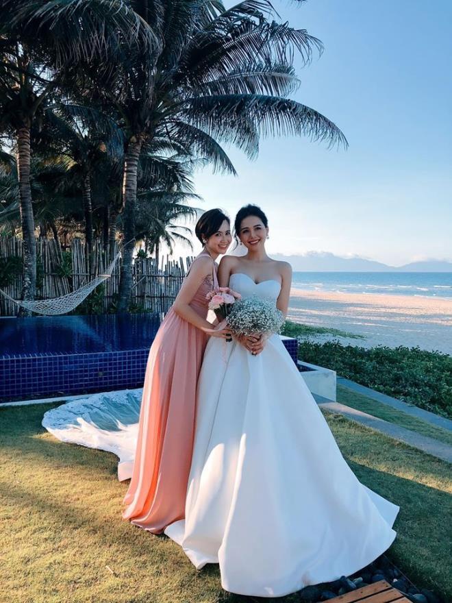 Ảnh cận nhan sắc cực xinh của cô dâu Phanh Lee trong ngày trọng đại