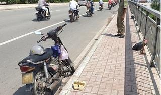 Công an vào cuộc vụ người đàn ông nhảy sông Sài Gòn do bị 'giang hồ' đòi nợ