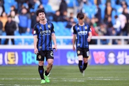 CLB Incheon United đối diện với nguy cơ xuống hạng