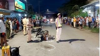 Bỏ đi sau va chạm với xe máy, thanh niên tiếp tục bị tai nạn tử vong