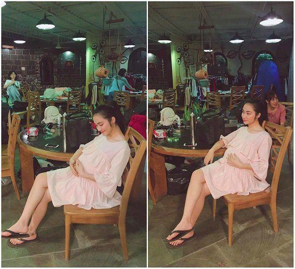 Đi du lịch với hội chị em, Hòa Minzy để lộ nghi vấn đưa con đầu lòng theo