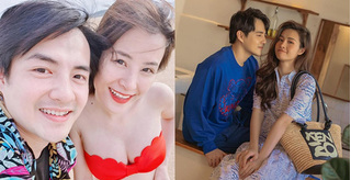 Đông Nhi tự tin diện bikini, khoe bụng bầu ở tháng thứ 5