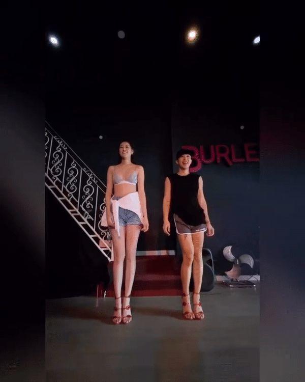 Hoa hậu Khánh Vân khoe màn catwalk 'nóng bỏng' trên nền hit mới của Amee
