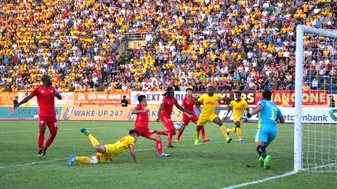 DNH Nam Định thua trắng trước Hải Phòng với tỷ số 0-2 ở vòng 6 V.League
