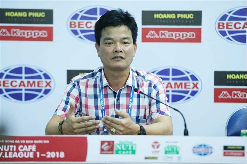 CLB DNH Nam Định thay tướng