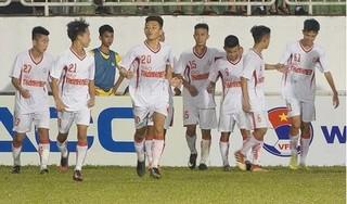 Giành ngôi nhất bảng, U19 HAGL 1 vào bán kết U19 quốc gia