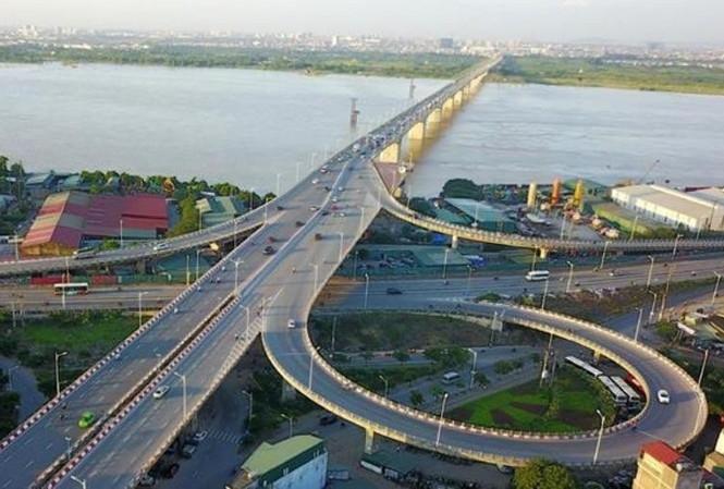 Khởi công cầu Vĩnh Tuy 2 trị giá 2.500 tỷ đồng tại Hà Nội
