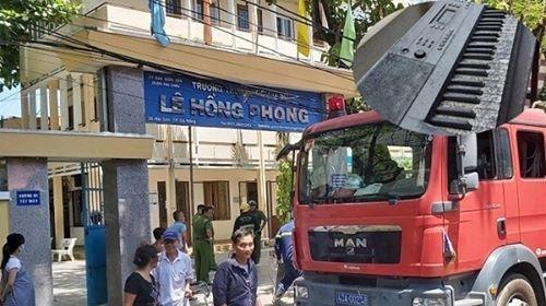 Phòng học nhạc ở Đà Nẵng cháy rụi giữa trưa hè nắng gắt