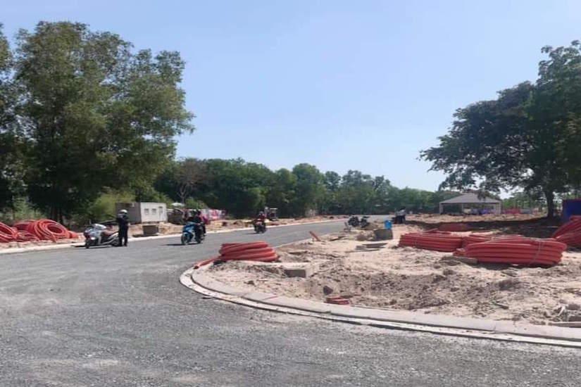 Dự án Khu Nhà ở Tuấn Điền Phúc được ghi nhận vào tháng 5/2020.
