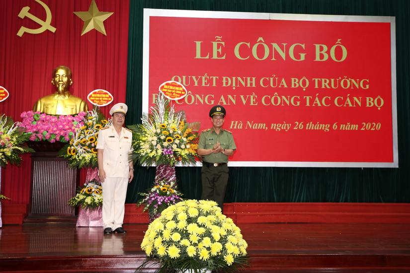 Giám đốc Công an tỉnh Hà Nam trở thành Tân Cục trưởng Cục CSGT 2
