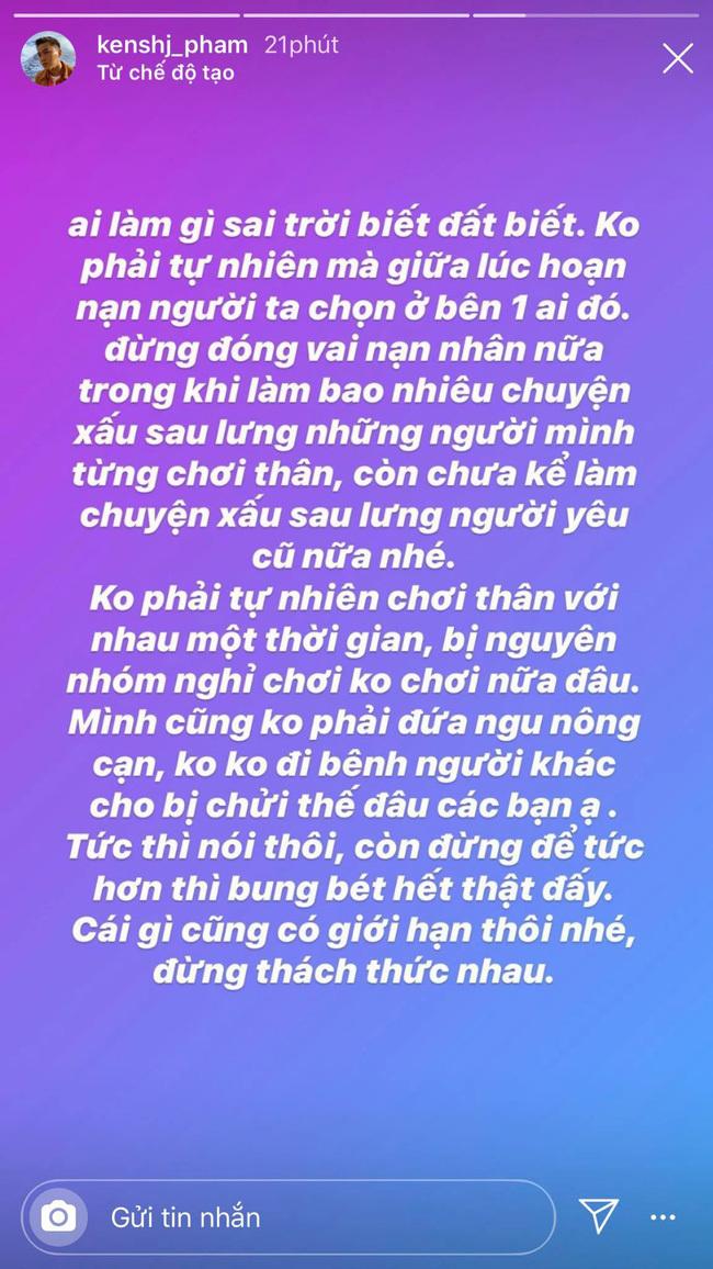 Hội bạn mới của Chi Pu 'đá xoáy' Quỳnh Anh Shyn 'chơi xấu sau lưng, làm chuyện có lỗi với người yêu cũ'
