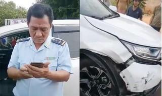 Phó Chi cục trưởng Hải quan gây tai nạn bỏ chạy bị đình chỉ công tác