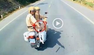 CSGT Lạng Sơn rút súng truy đuổi xe tải vi phạm có đúng luật?