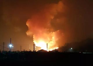 Thái Nguyên: Cháy tại khu doanh trại quân đội, cột khói bốc cao hàng chục mét