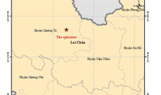 Sáng nay Lai Châu lại động đất, trận thứ 5 trong tháng 6