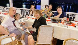 Bảo Ngọc vui vẻ đi ăn cùng gia đình giữa thông tin Hoài Lâm bán cafe kiếm sống