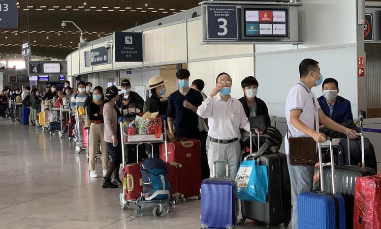 Hơn 280 công dân Việt Nam từ châu Âu hồi hương