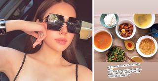 Phanh Lee khoe bữa cơm giản dị do chồng đại gia nấu khiến fan xuýt xoa
